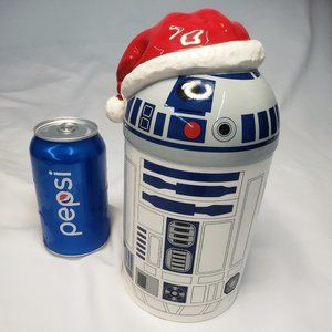 Hallmark Santa R2D2 Star Wars Treat Cookiie Jar